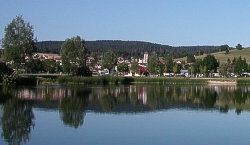 Labergement vu depuis le lac